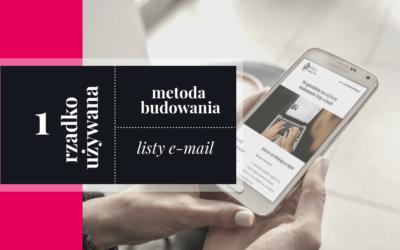 Content upgrade – niedoceniana technika budowania listy e-mail